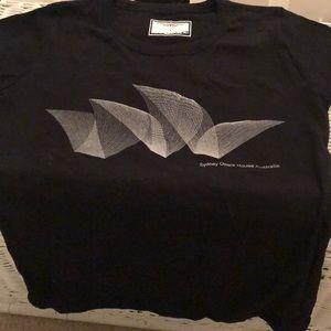 NWOT Sydney Opera House Australia black shirt